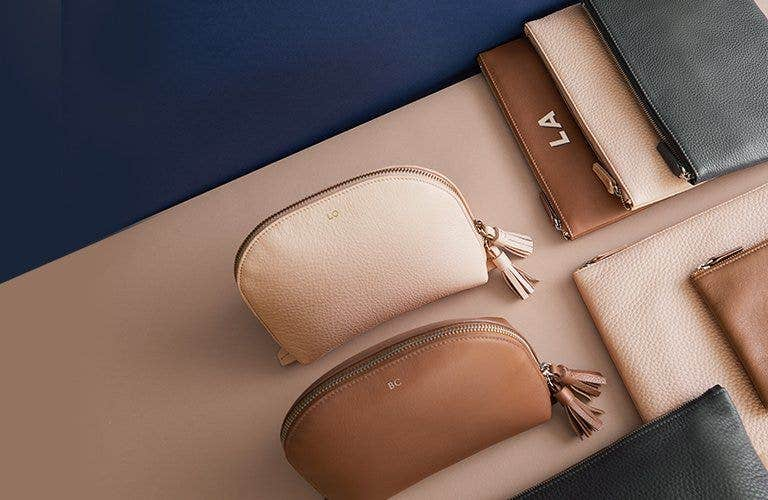 Meet Our Leather Pouches