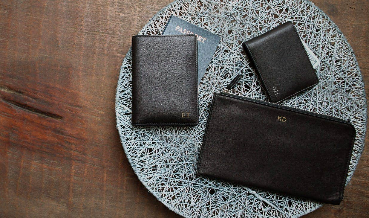 RFID Blocking Collection in Leather