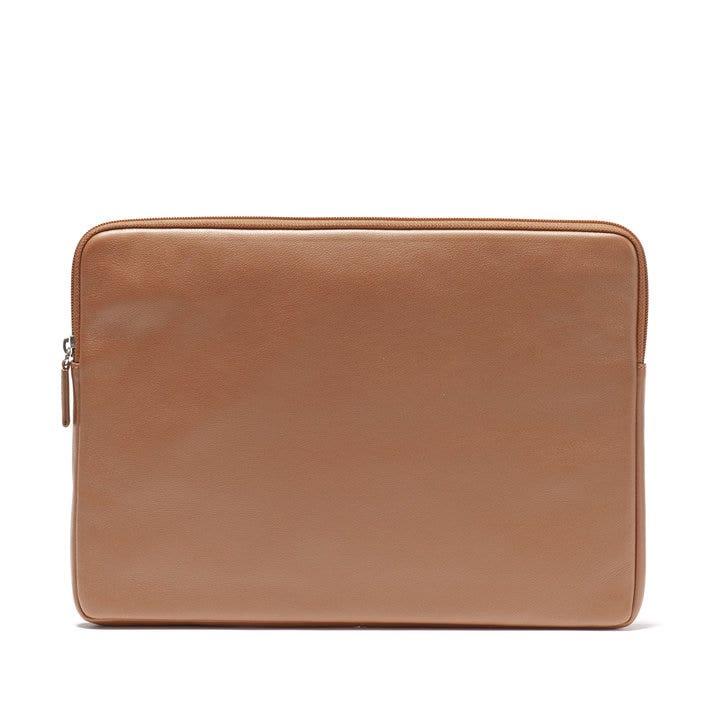 the latest eeb4c 8e44d 13 Inch MacBook Air Sleeve | Full Grain Leather Cognac Tan