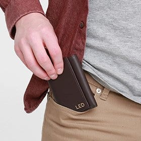 Shop New Men's Trifold Wallets!