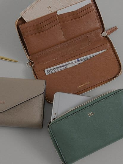 Our Newest Women's Leather Wallets!