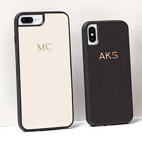 Monogram or paint to personalize your iPhone case!