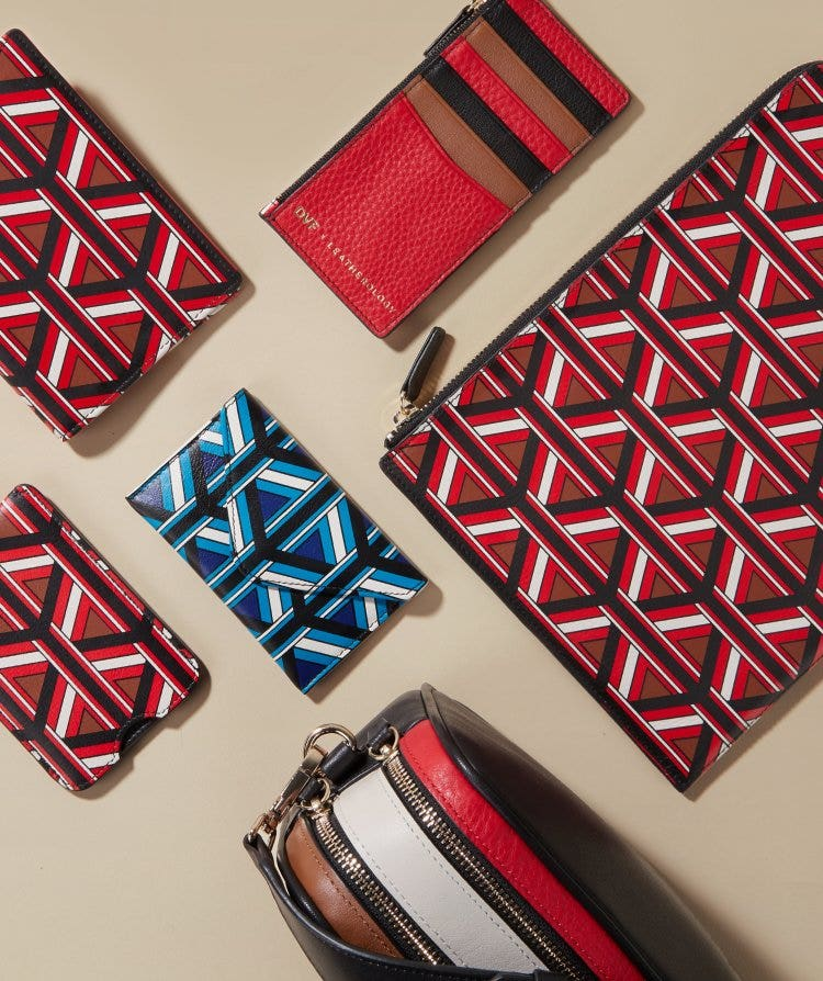 DVF x Leatherology Geo Collection
