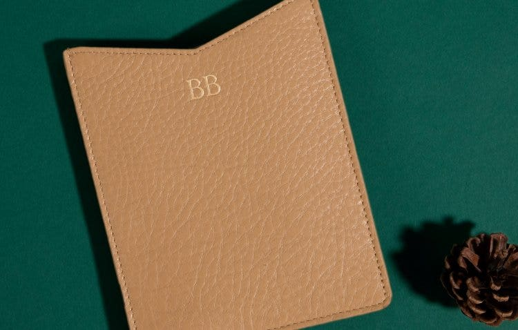 Personalized Leather Travel Accessories