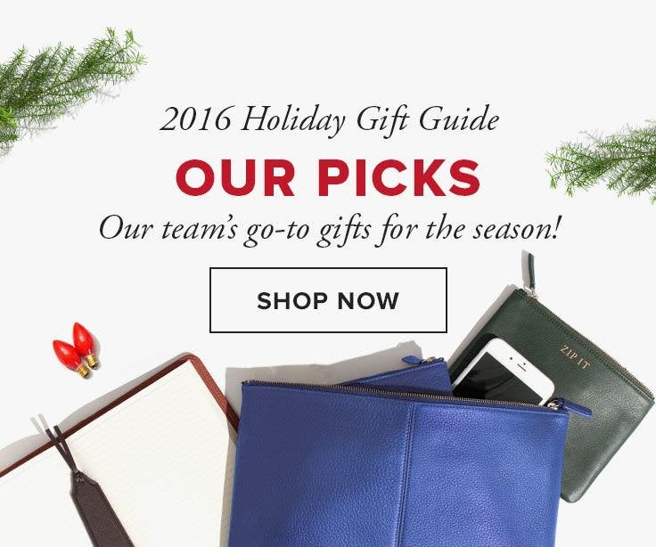 OUR PICKS FOR HOLIDAY GIFTS!
