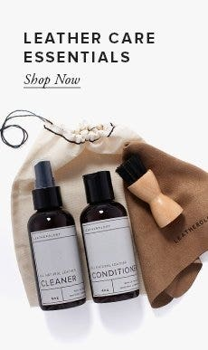 Leather Care Essentials!