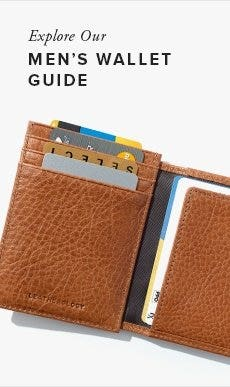 Explore Men's Wallet Guide!