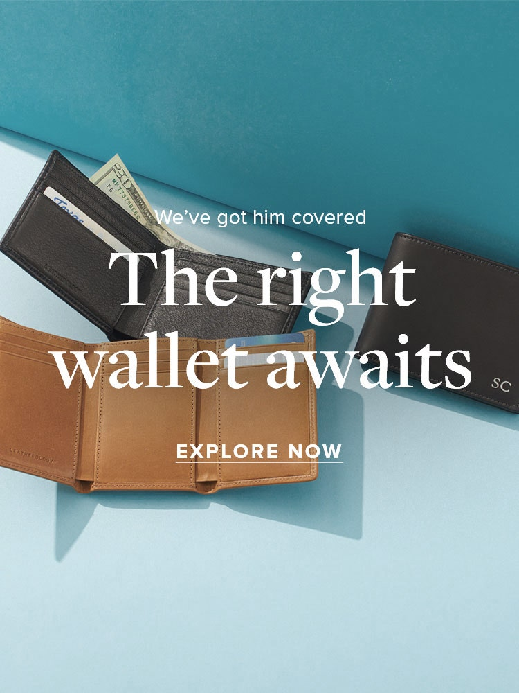 Leather Wallets for Men!