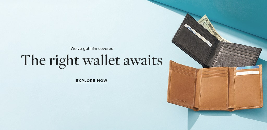 Men's Personalized Wallets!