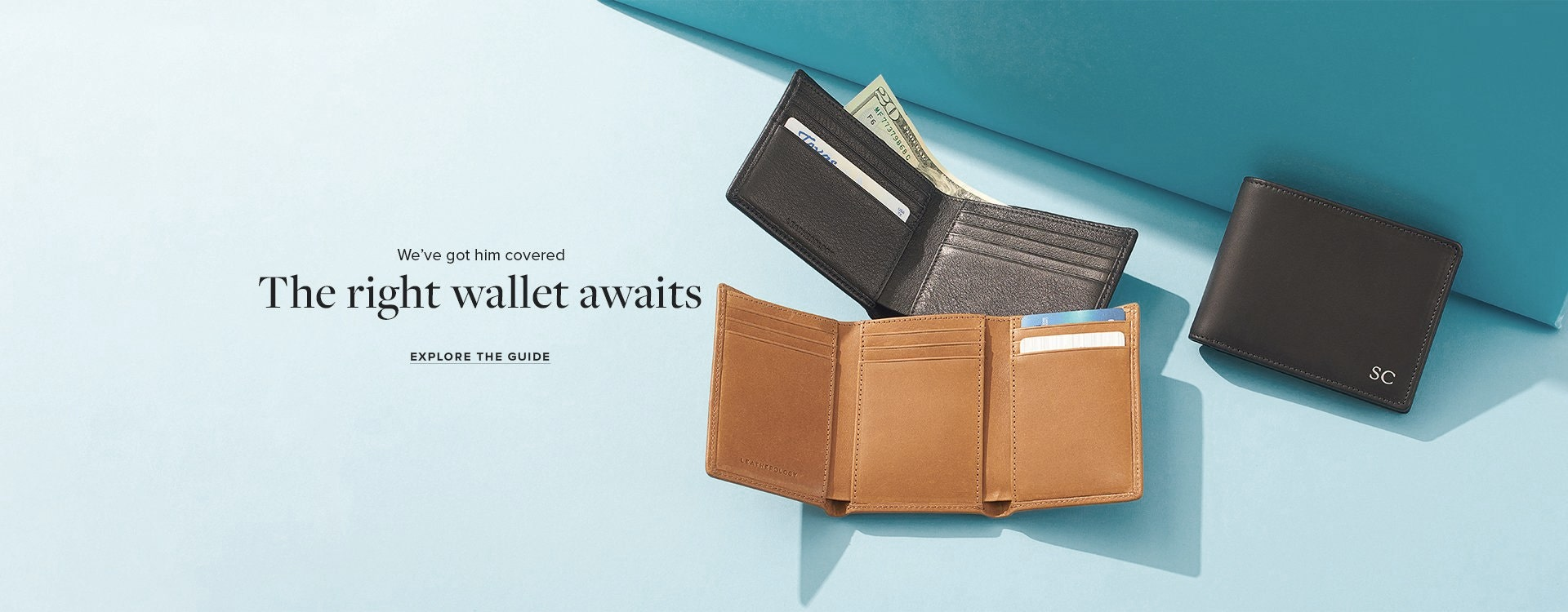 Men's Leather Wallets!