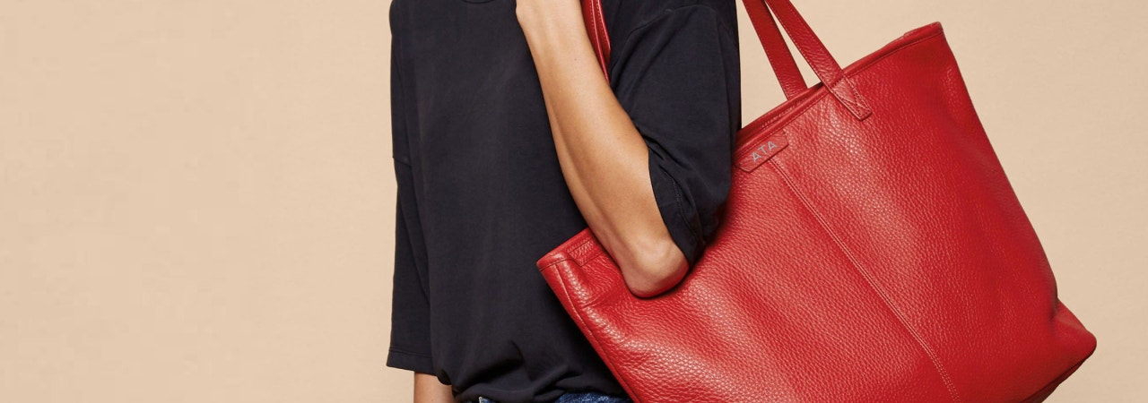 Our Leather Tote Bags Are Designed to Be Carried With Confidence