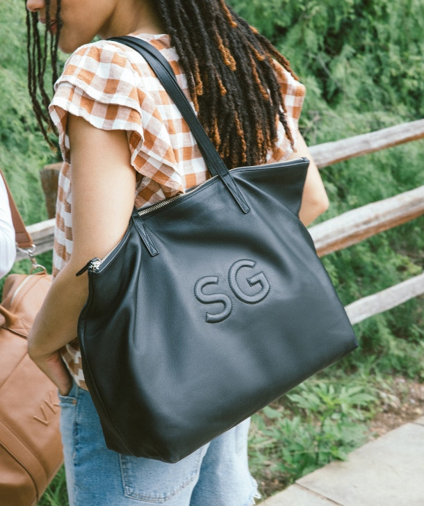 Carry Everything in Style with Our Leather Totes
