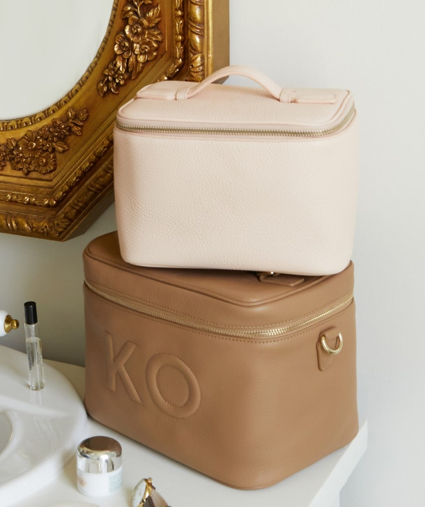 Put Your Makeup On Display with Our Train Case Collection