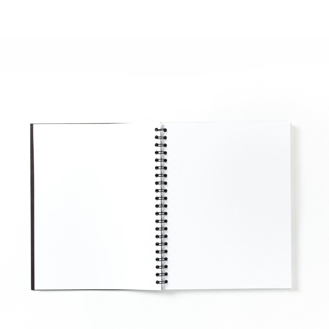 Blank Spiral Notebook Refill