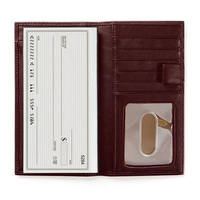 Breast Pocket Checkbook Wallet