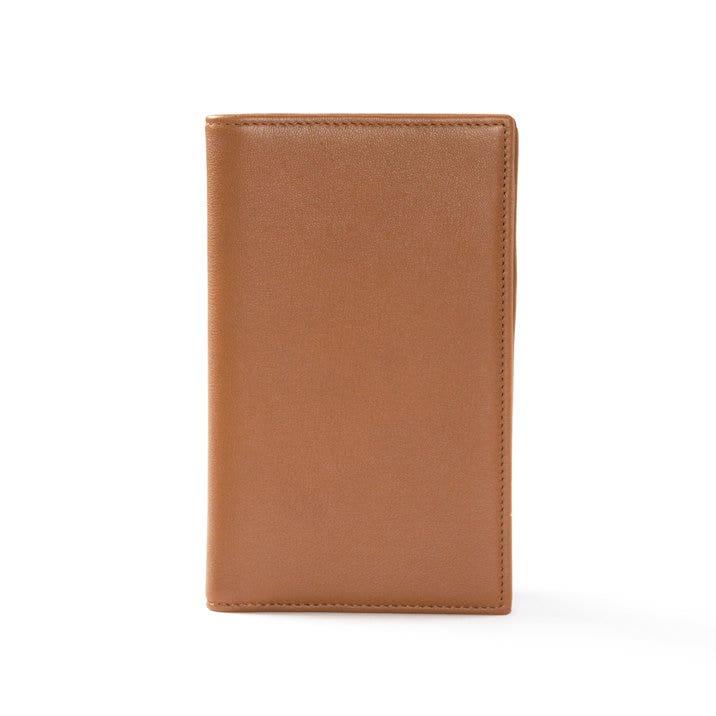 Business Card Organizer | Full Grain Leather Cognac Tan