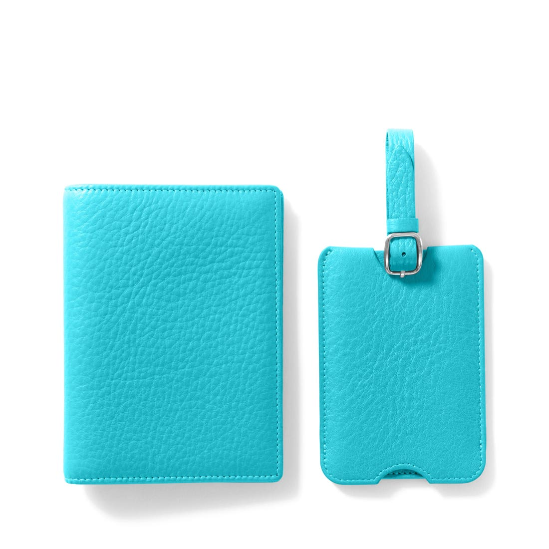 Deluxe Passport Cover + Luggage Tag Set