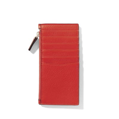 Devon Slim Zip Card Case