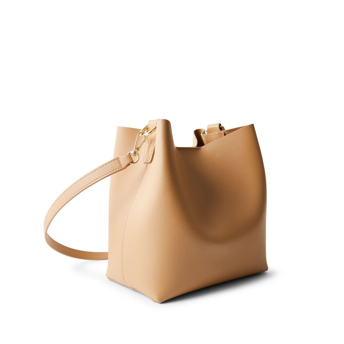 Elizabeth Small Shoulder Bucket Bag