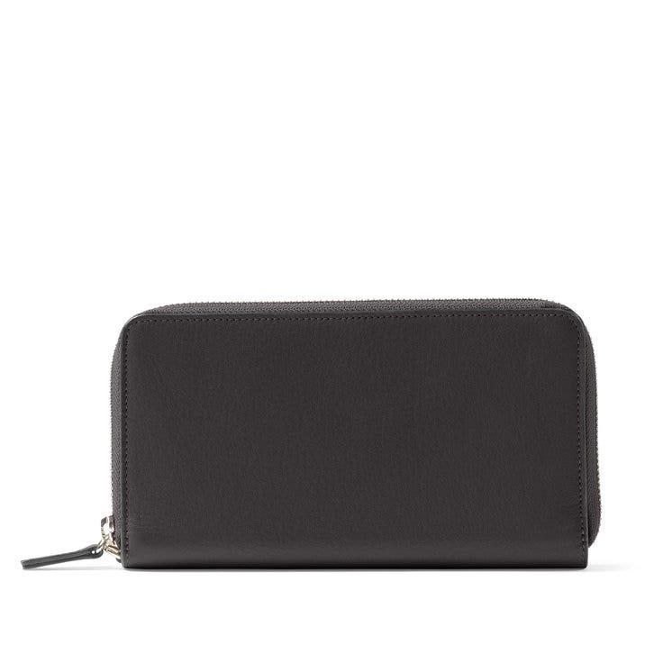 2ed6b85e37d744 Klyde Continental Wallet | Full Grain Leather Black Onyx