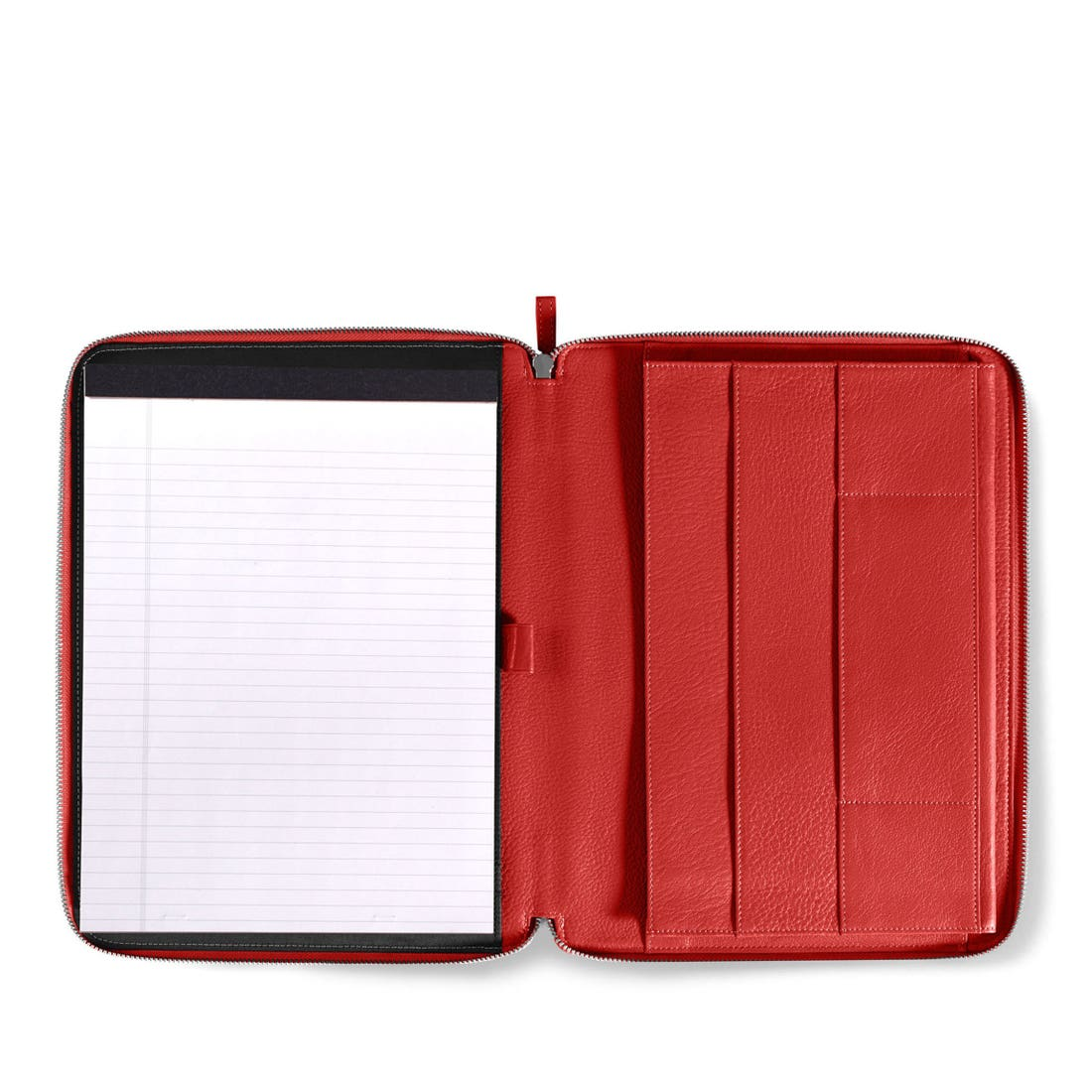 Left Handed Executive Zippered Portfolio