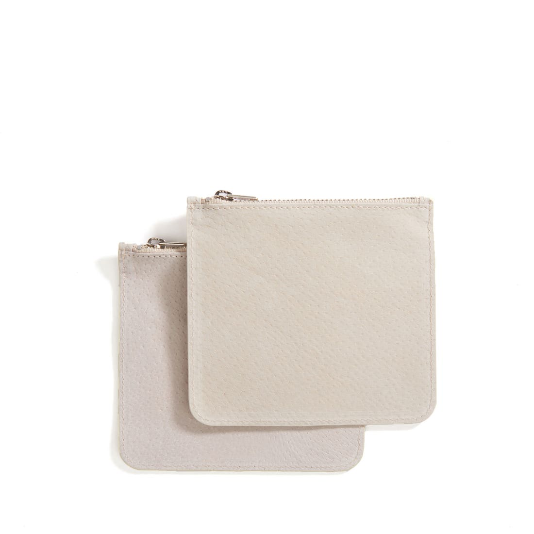 Medium Pig Suede Pouches (Set of Two)