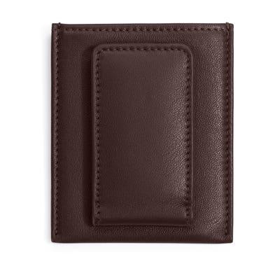 Money Clip Card Case