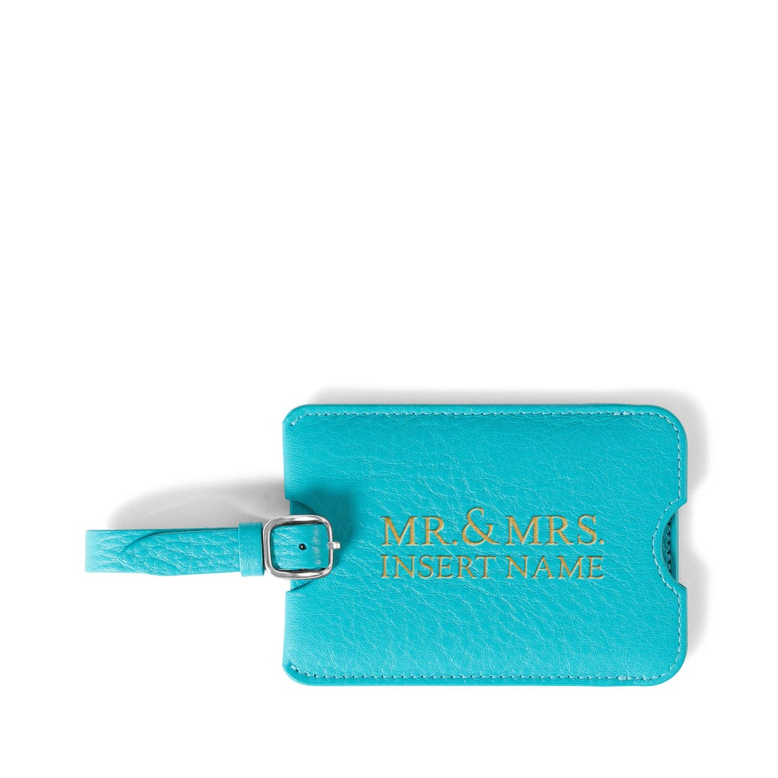 Mr & Mrs Luggage Tag