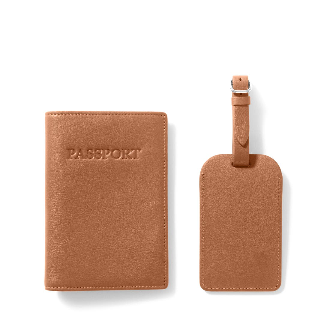 Passport Cover + Luggage Tag Set