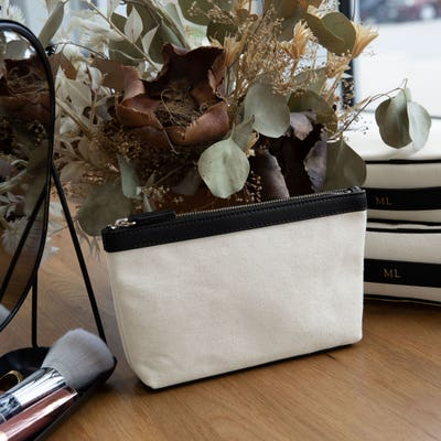 Small Accessories Pouch in Canvas