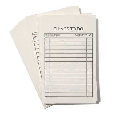 Things To Do Cards