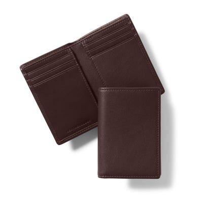 Vertical Bifold Wallet
