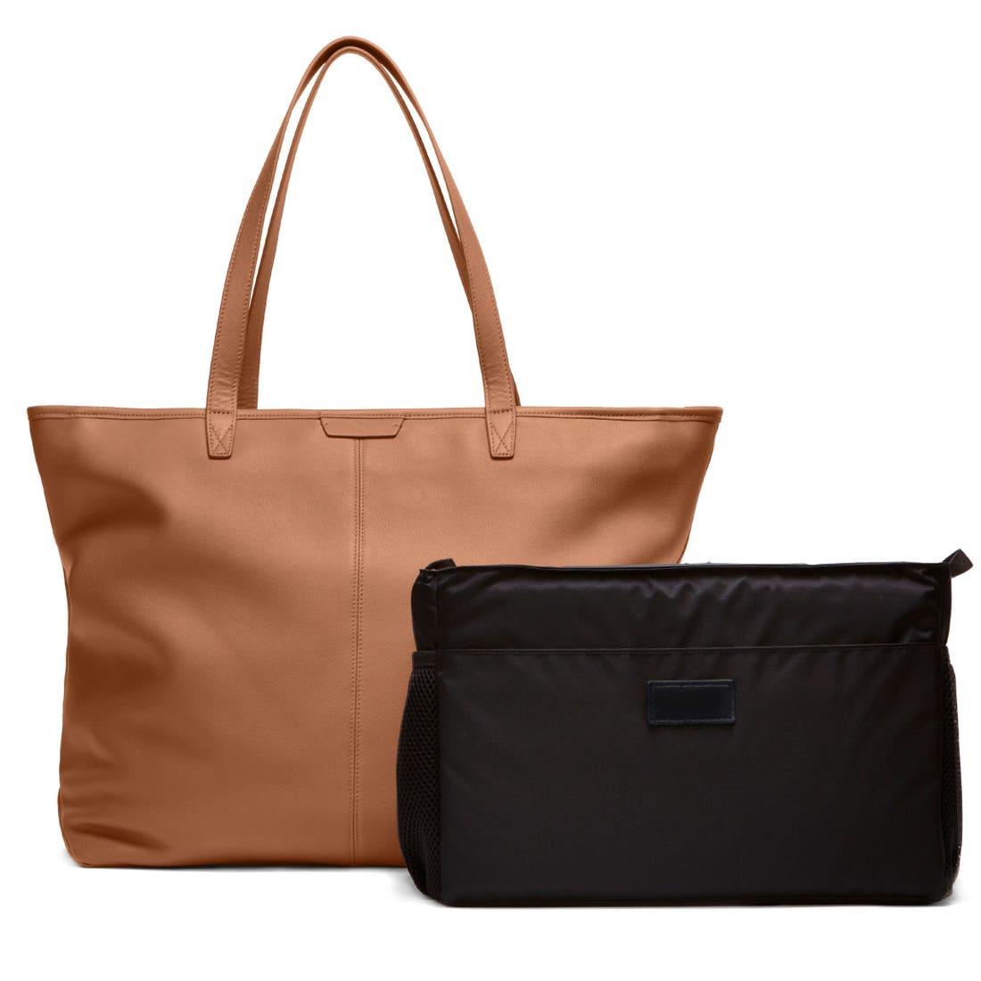 Zippered Downtown Diaper Bag