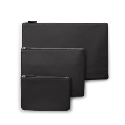 Zippered Pouch Trio