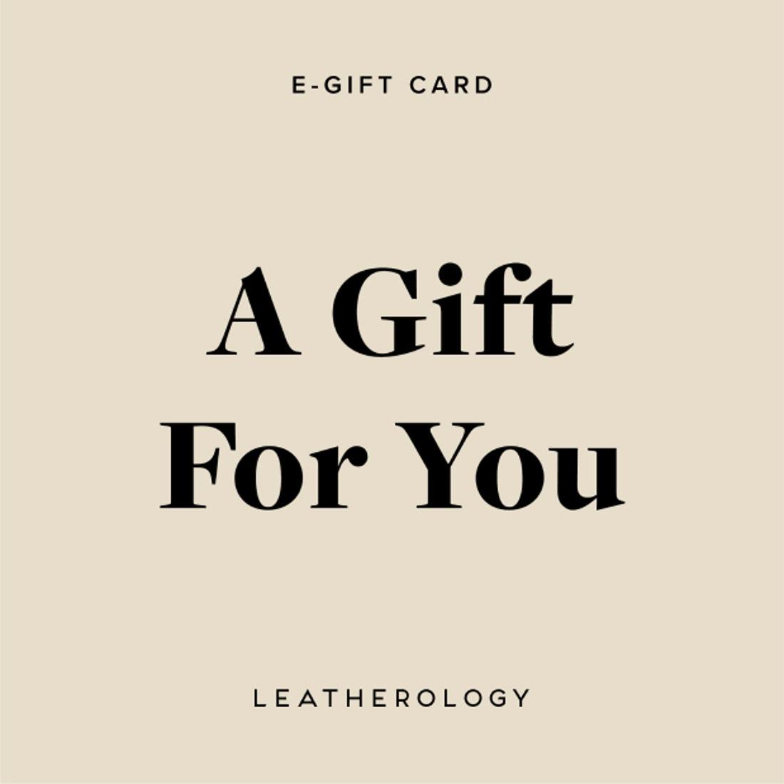 Leatherology Virtual Gift Card